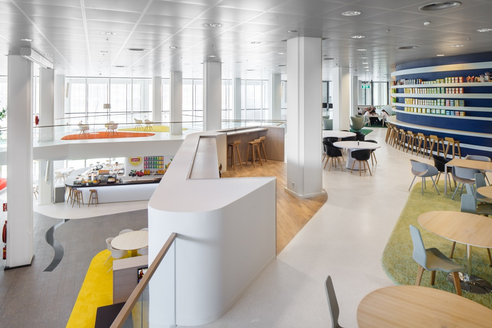 Project unilever verwol complete interieur realisatie for Archi interieur rotterdam